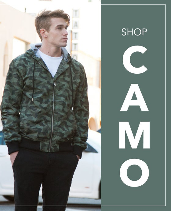 Image of Shaka Camo Jacket