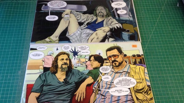 Image of the dude print set of 2