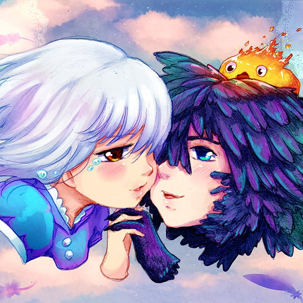 Image of Howl's Moving Castle Print
