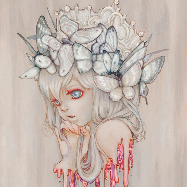 Image of Strawberry Whispers Print