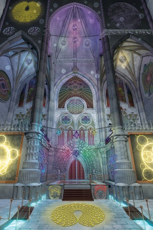 """Image of Cathedral of Consciousness 12"""" x 18"""""""