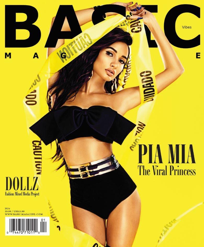 Image of BASIC PIA MIA Cover - Vibez Issue