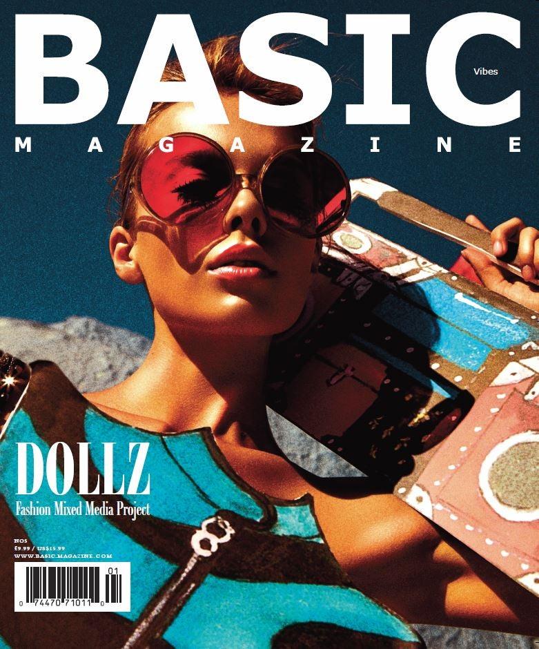 Image of BASIC DOLLZ Cover - Vibez Issue