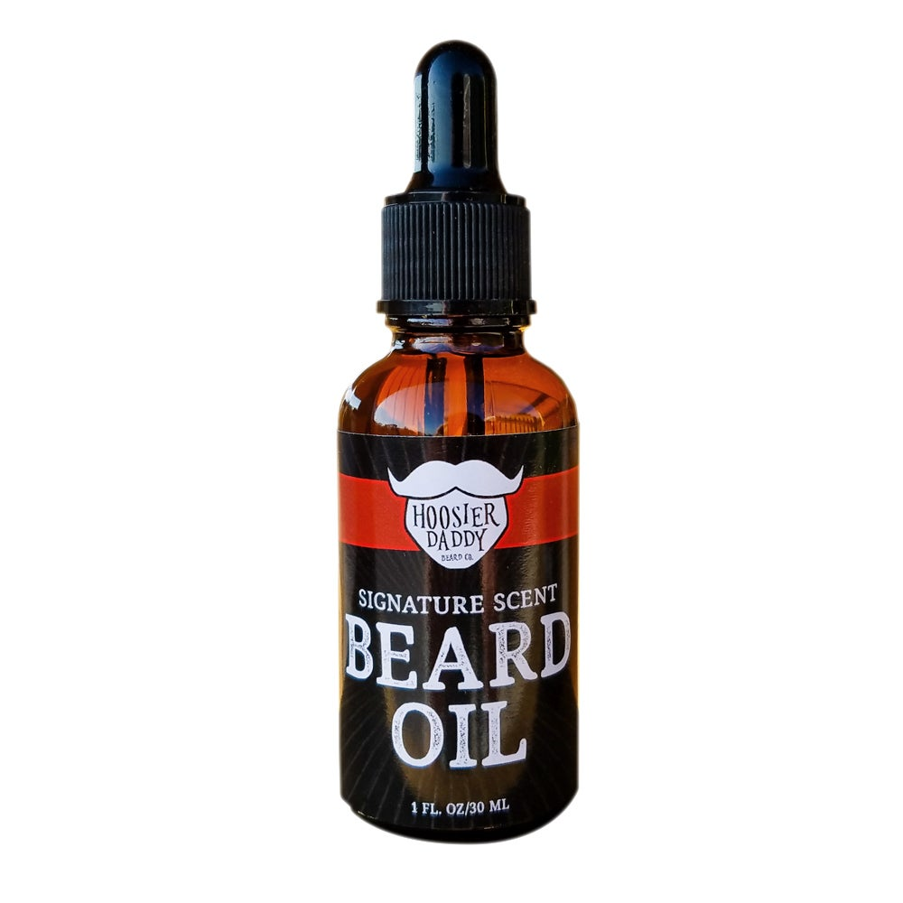 Image of Hoosier Daddy Signature Scent Beard Oil