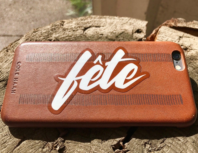 Image of Fête Stickers (Die-Cut)