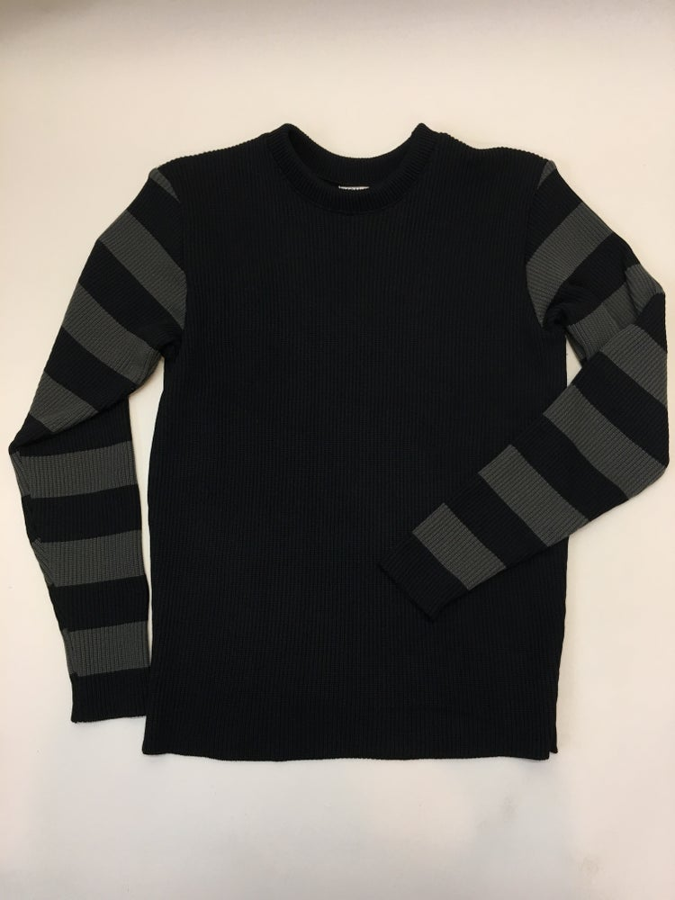 Image of Motorcycle Sweater Solid Black Body