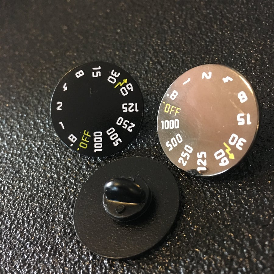 Image of Film Speed Lapel Pin