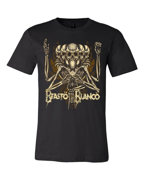 Image of OFFICIAL - BEASTO BLANCO - BB BLACK UNISEX SHIRT