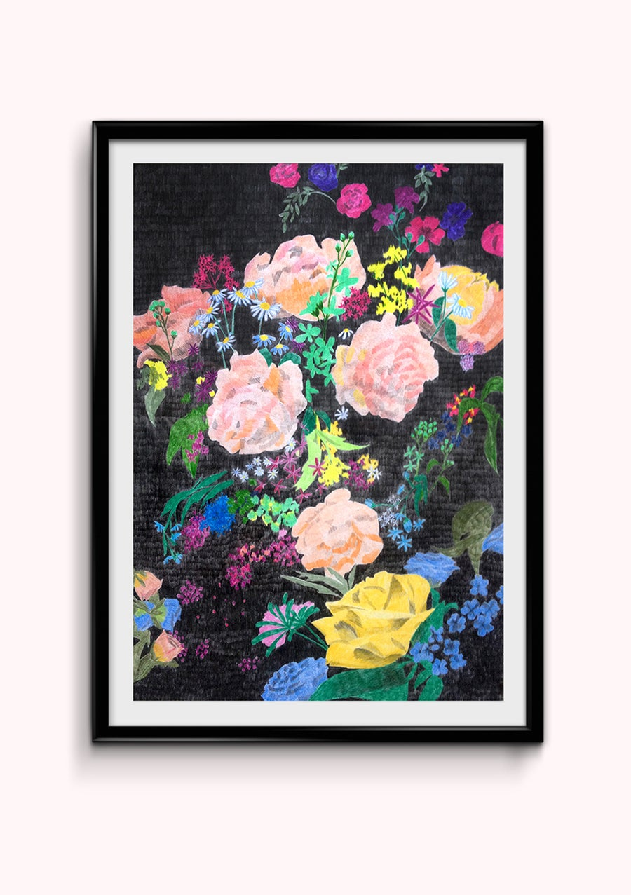Image of Fleurs 1 - Impression A3