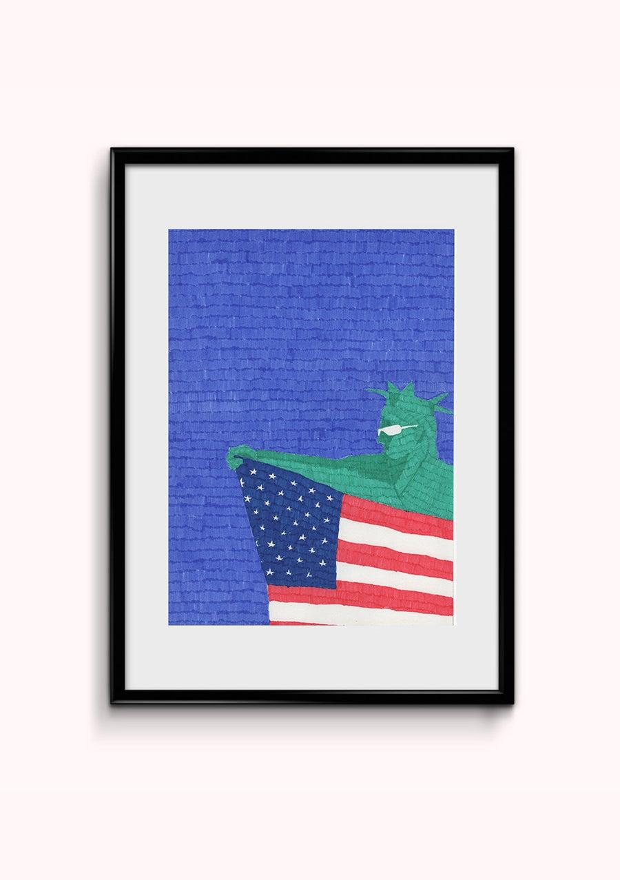 Image of America 4 - format A4 ORIGINAL