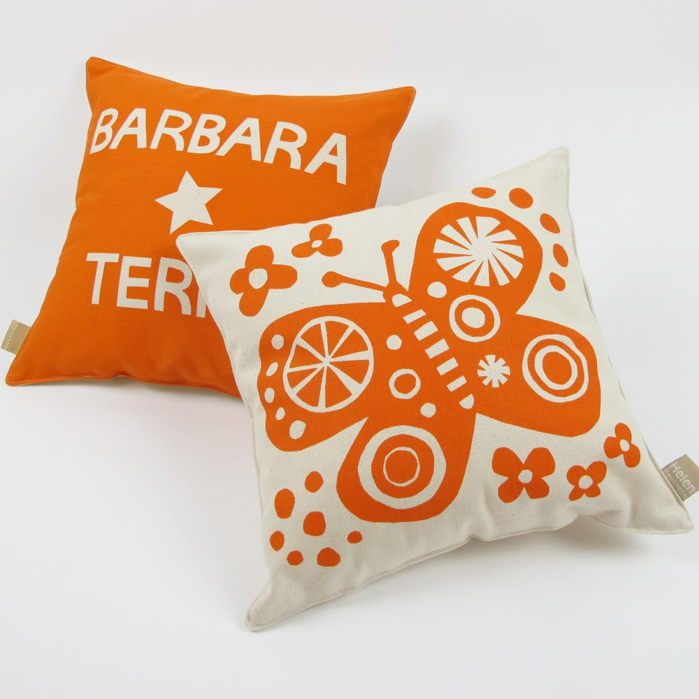 Image of Personalised Butterfly Cushion