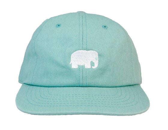 Image of Elephant Polo Hat (Seafoam)