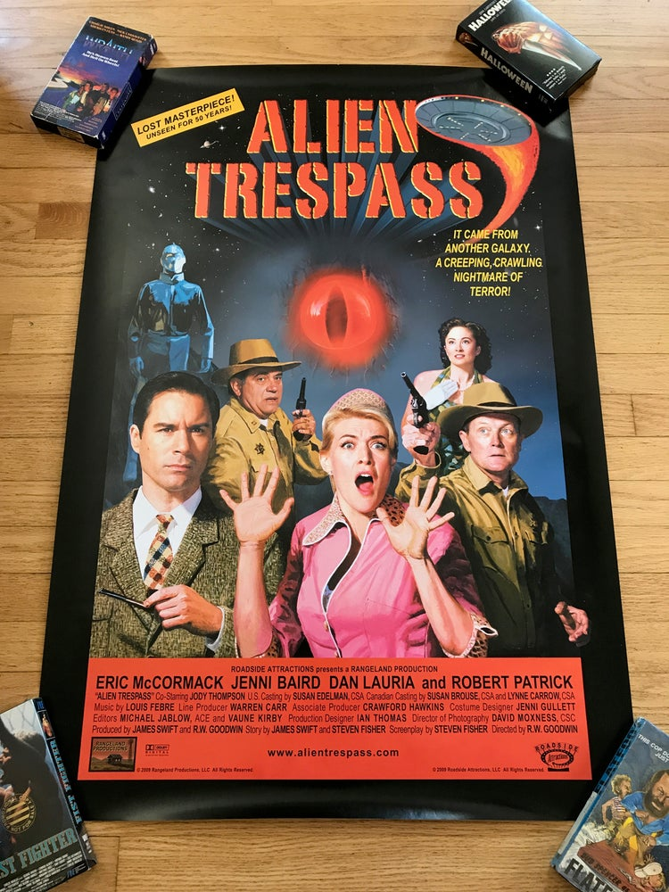 Image of 2009 ALIEN TRESSPASS Original One Sheet Movie Poster