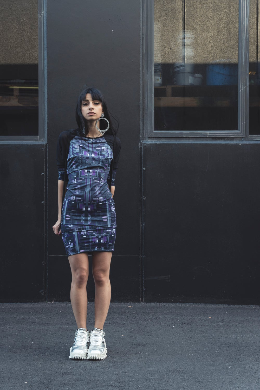 Image of DARKWEB MORPHOMETRIC DRESS