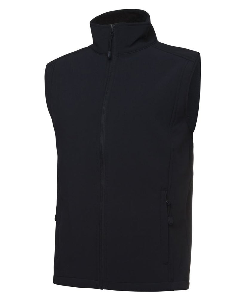 Image of Navy Soft Shell Vest - Mens and Kids