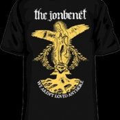 Image of The Jonbenet<br>Mary T-Shirt (black)<br>YOUTH MEDIUM ONLY