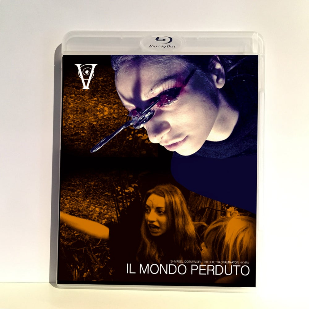 Image of IL MONDO PERDUTO - BLU-RAY-R + DVD (HD COLLECTION #9) Signed and Stamped, Limited 50, DESIGN B EYES