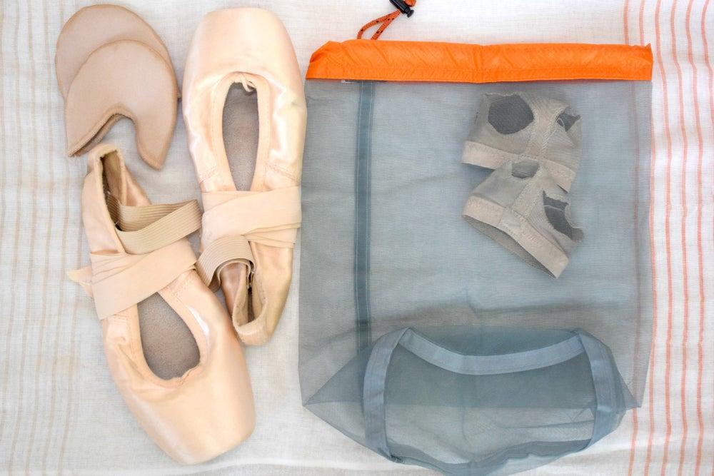 Image of Pointe Shoe Mesh Bag