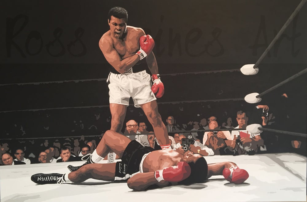 Image of ALI V LISTON (A3 art print)
