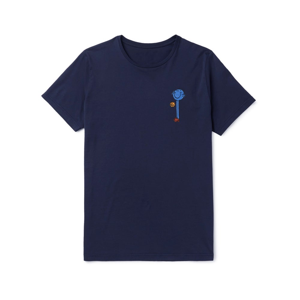 Image of Tshirt broderie Basket-Ball