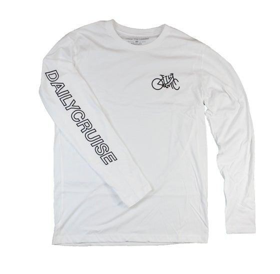 Image of DailyCruiser Long Sleeve (White)