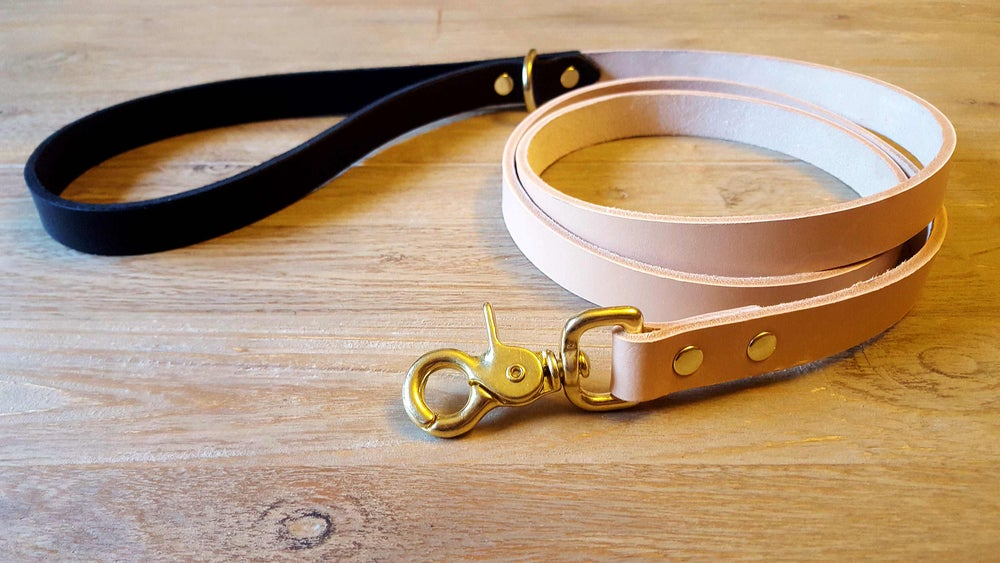 Image of Shadow Boxer Leather Dog Lead