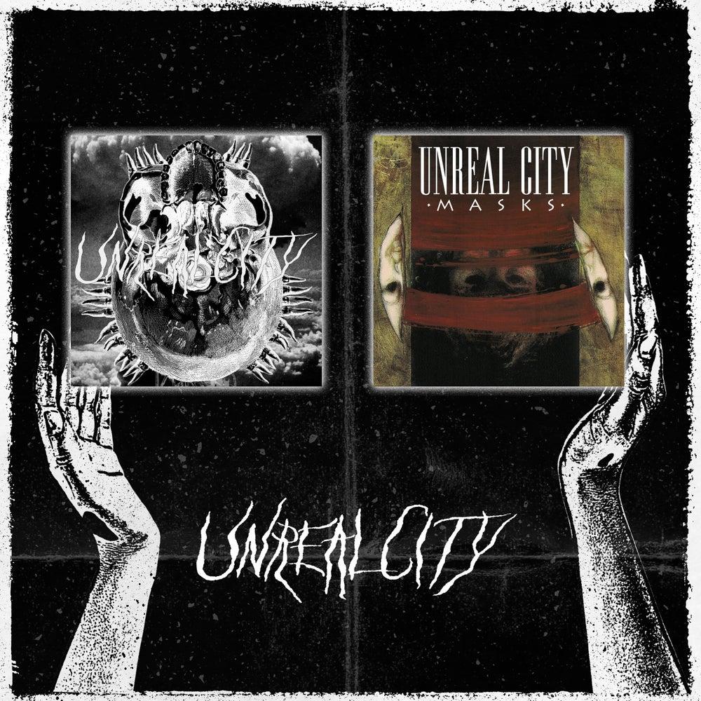 "Image of Unreal City - Oath 7"" + Masks 7"""