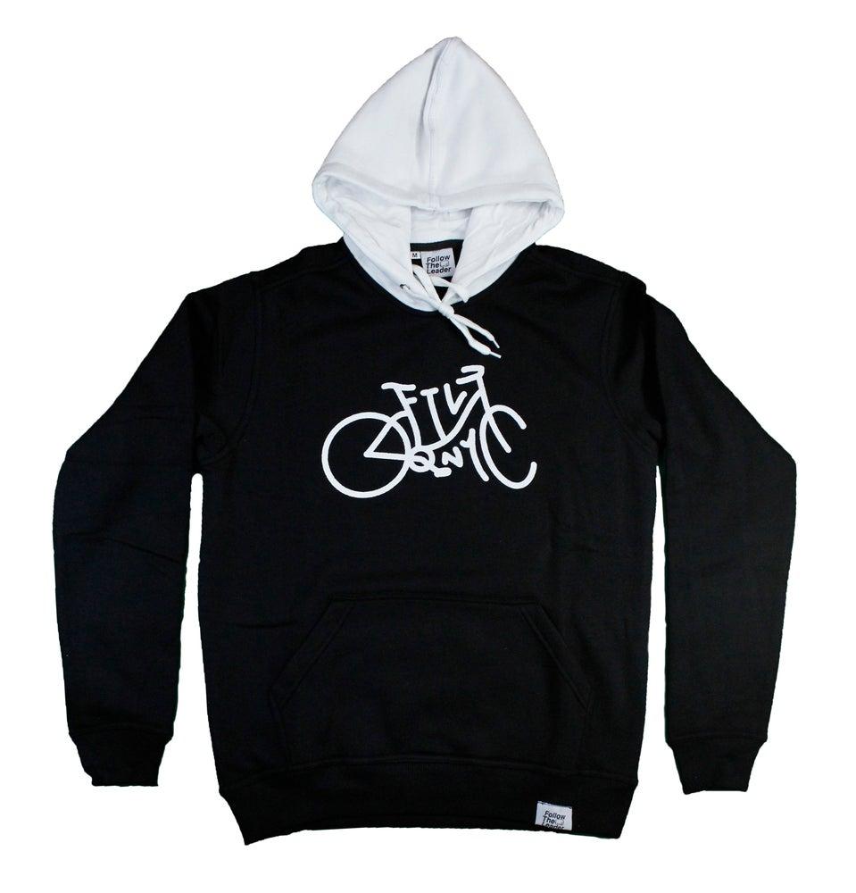 Image of Cruiser Hooded Sweatshirt (Black)