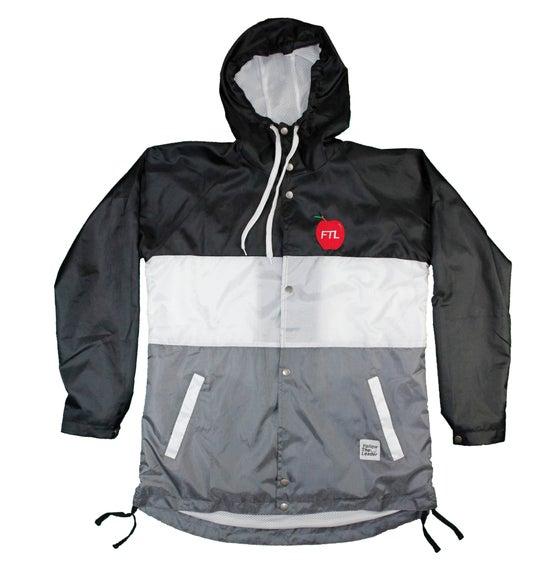 Image of Big Apple Hooded Windbreaker Jacket