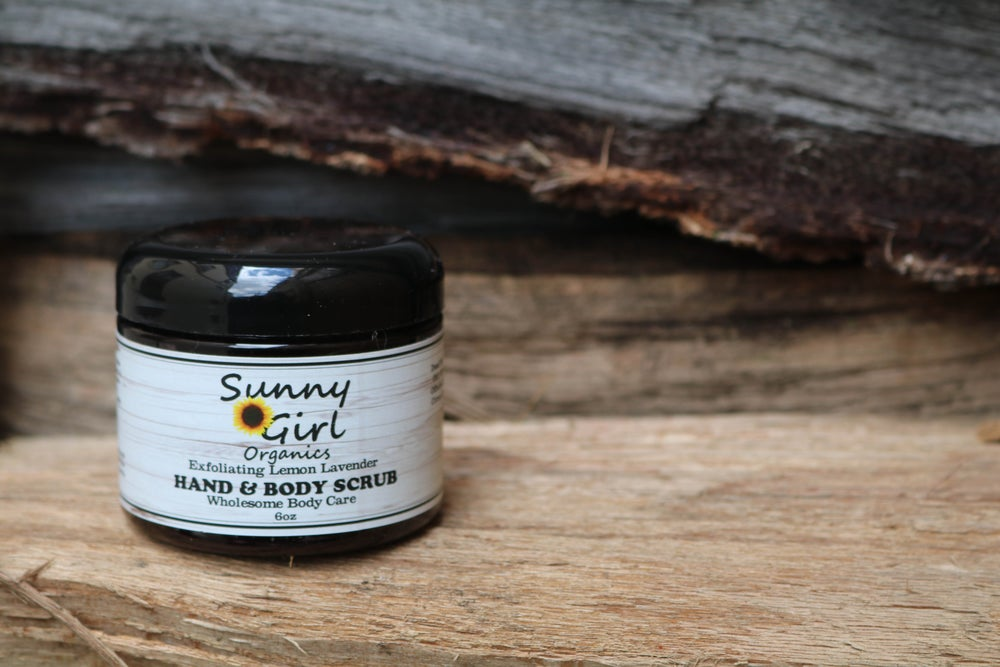 Image of Exfoliating Lemon Lavender Hand & Body Scrub