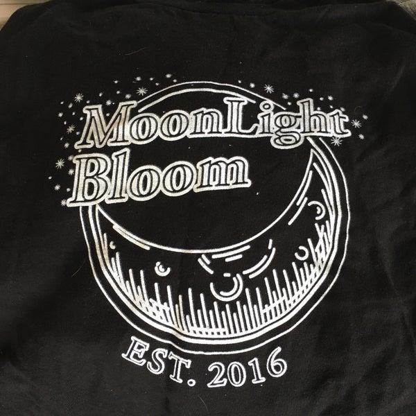 Image of Moonlight Bloom T-Shirt (1st Gen) - Black