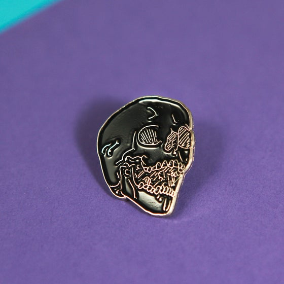 Image of No Skulls Enamel Pin