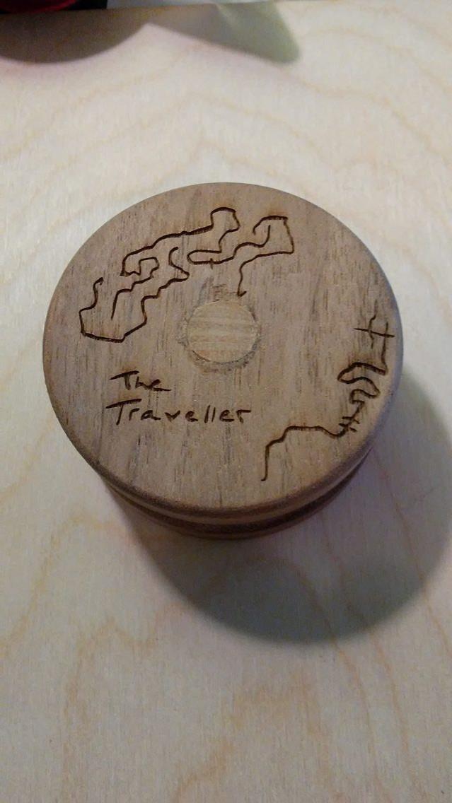 Image of Walnut Traveller (Engraved)