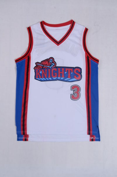 Image of Like Mike Movie Knights #3 Calvin Basketball Jersey