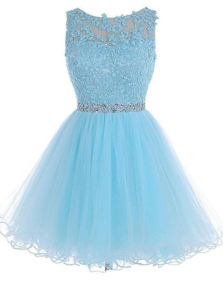 Homecoming Dresses 2018 Blue 68
