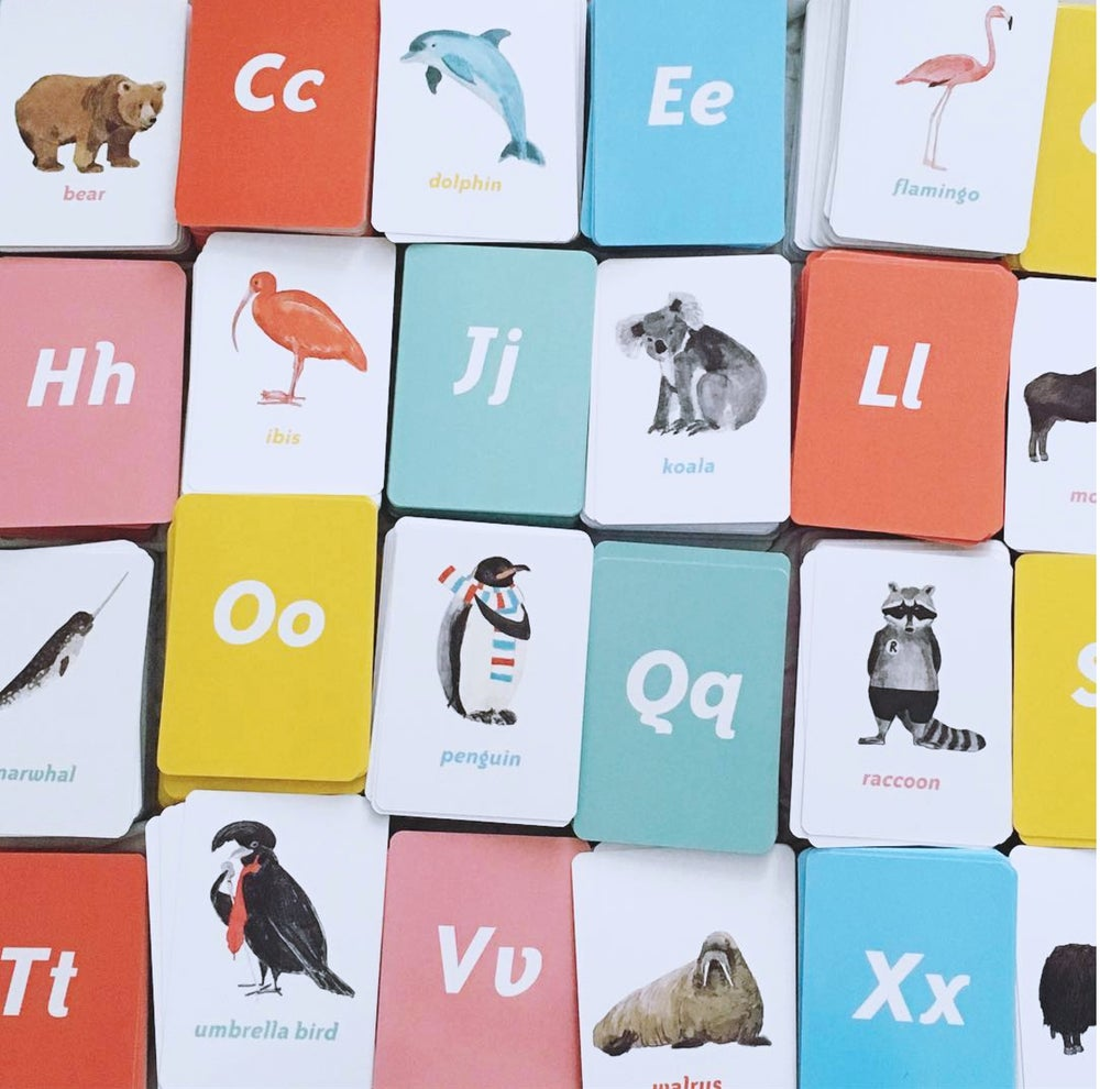 Image of Animal Alphabet Flash cards