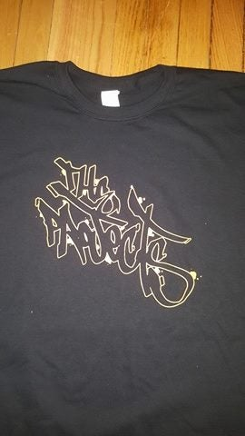 Image of THE PROJECTS LOGO T SHIRT 2 SIDED (IN STOCK)