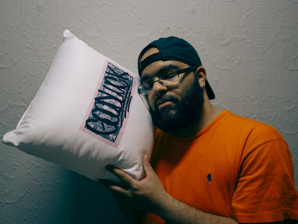 "Image of ""GOODLUCK"" Pillow"