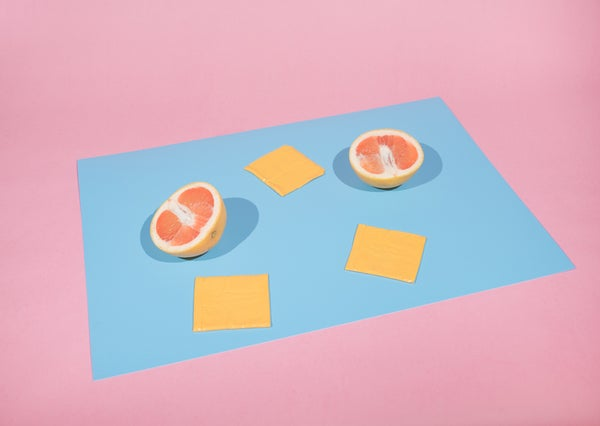 Image of Grapefruit and Plastic Cheese