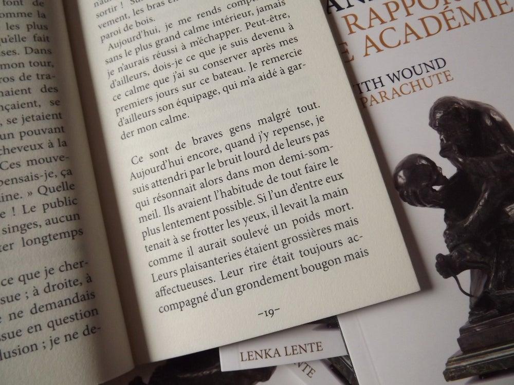 Image of Rapport à une Académie de Franz Kafka / Kafka's Parachute de Nurse With Wound
