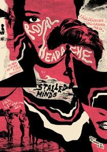 Image of ROYAL HEADACHE (Paris 2016) screenprinted poster