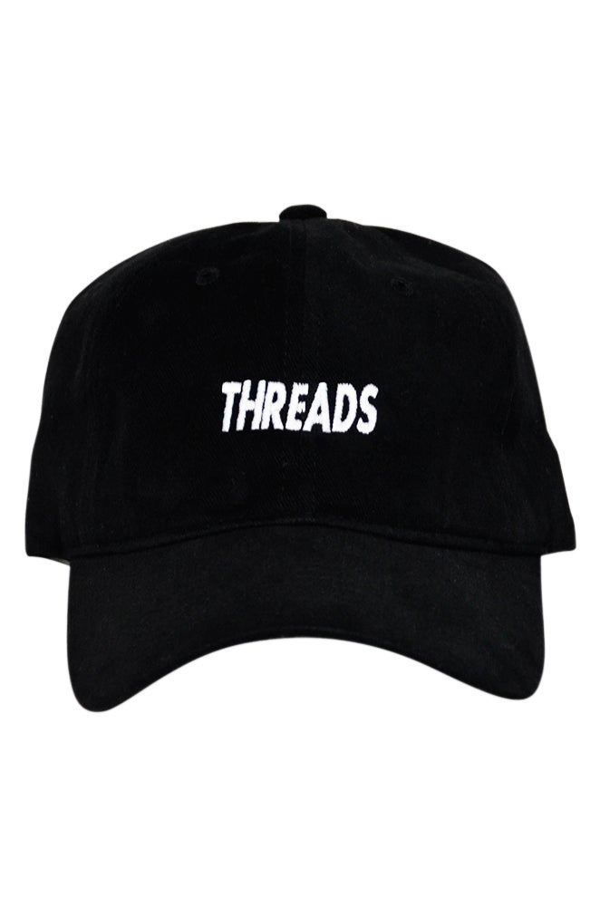 Image of THREADS Polo Style - Black/White
