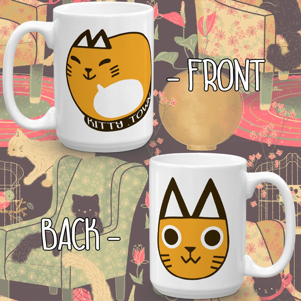 Image of Kitty.Town Mug 3