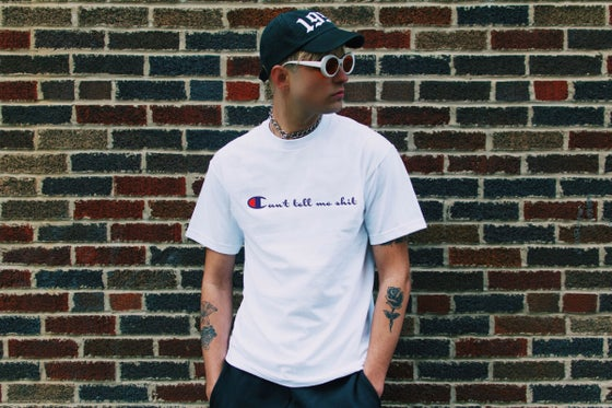"Image of ""Can't tell me sh*t"" tee"