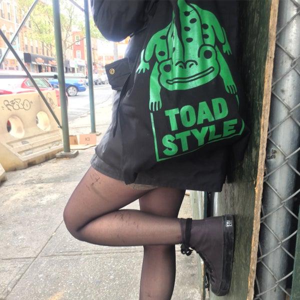 Image of Toad bag tote bag
