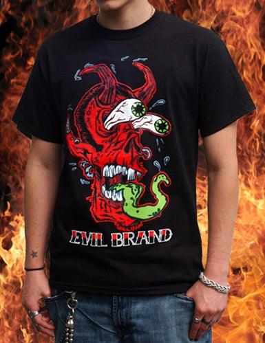 Image of Demon Fink Shirt (A Brimm + Evil Brand Collab)