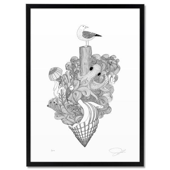 Image of Large Print: Sealife