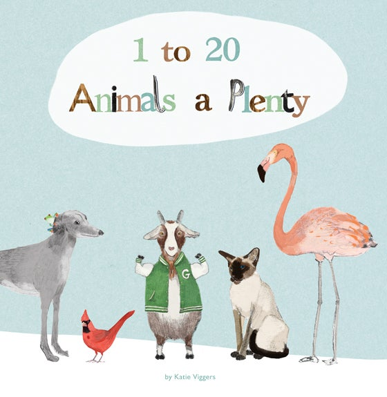 Image of 1 to 20 Animals a Plenty