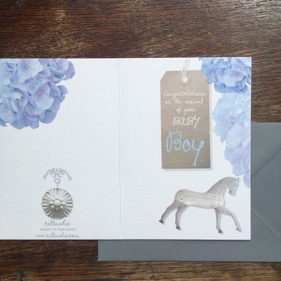 Image of Baby Boy Card