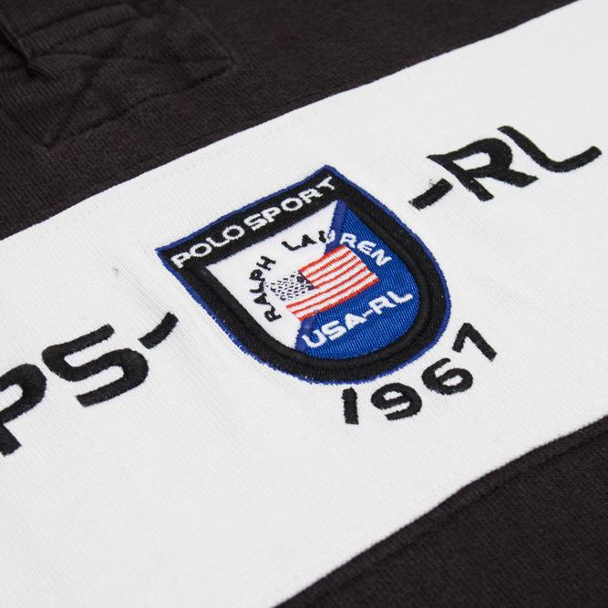 Image of Polo Sport Ralph Lauren Vintage Rugby Shirt Arctic Challenge XL
